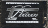 2009 Topps Platinum Football Hobby Pack