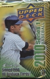2010 Upper Deck Baseball Hobby Pack