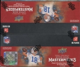 2008 Upper Deck Masterpieces Football 24-Pack Box