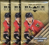 2009/10 Upper Deck Black Diamond Hockey Hobby Pack