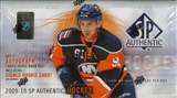 2009/10 Upper Deck SP Authentic Hockey Hobby Box