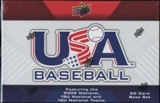 2010 Upper Deck USA Baseball Hobby Set (Box)