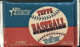 2002 Topps Heritage Baseball 24 Ct. Retail Pack Lot