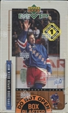 1999/00 Upper Deck MVP Hockey Blaster 14 Pack Box