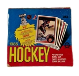 1984/85 O-Pee-Chee Hockey Wax Box