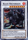 Yu-Gi-Oh Stardust Overdrive Single Black Brutdrago Super Rare