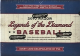 2010 Razor Legends of the Diamond Baseball Hobby Box