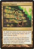 Magic the Gathering Friday Night Magic Single Ancient Ziggurat Foil - SLIGHT PLAY (SP)