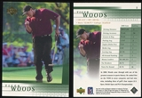 2001 Upper Deck Golf #1 Tiger Woods RC