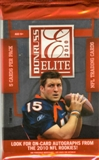 2010 Donruss Elite Football Hobby Pack