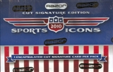 2010 Leaf Sports Icons Cut Signature Edition Hobby Box