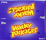 Wacky Packages Series 7 Trading Card Stickers Box (Topps 2010)