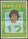 1971 Topps Football Complete Poster Set