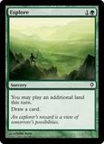 Magic the Gathering Worldwake Single Explore FOIL