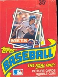 1985 Topps Baseball Wax 20-Box Case