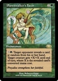 Magic the Gathering Planeshift Single Planeswalker's Favor Foil