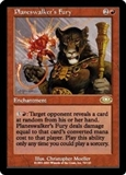 Magic the Gathering Planeshift Single Planeswalker's Fury UNPLAYED (NM/MT)