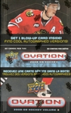 2008/09 Upper Deck Ovation Hockey Volume 3 Box (Tin)