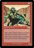 Magic the Gathering Urza's Saga Single Okk UNPLAYED (NM/MT)