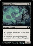 Magic the Gathering 2010 Single Looming Shade FOIL