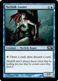 Magic the Gathering 2010 Single Merfolk Looter Foil