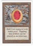 Magic the Gathering Unlimited Single Mox Ruby UNPLAYED (NM/MT)