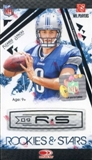 2009 Donruss Rookies & Stars Football 8-Pack Box
