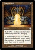 Magic the Gathering Apocalypse Single Dragon Arch FOIL