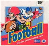 1986 Topps Football Cello Box