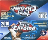2010 Topps Chrome Baseball 24-Pack Box - Stephen Strasburg!