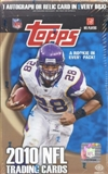 2010 Topps Football Hobby Box