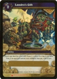 WoW Wrathgate Single Landro's Gift Box Unscratched Loot Card