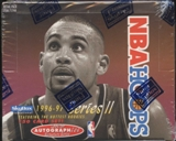 1996/97 Hoops Series 2 Basketball Retail Box
