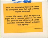 1995 Topps Series 2 Baseball Factory Set