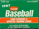 1987 Fleer Update Baseball Factory Set