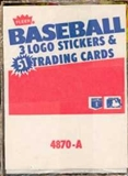 1987 Fleer Baseball Rack Box (Barry Bonds Rookie!)