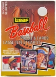 1987 Leaf Baseball Wax Box