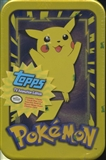 Pokemon TV Edition Card Tin (Box)(1999 Topps)