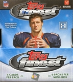 2010 Topps Finest Football Hobby Box
