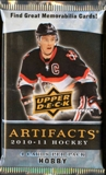 2010/11 Upper Deck Artifacts Hockey Hobby Pack