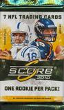 2010 Score Football Pack
