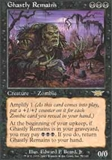 Magic the Gathering Legions Single Ghastly Remains FOIL