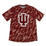 Indiana Hoosiers Adidas Red Climalite Performance Training Tee Shirt (Adult XXL)