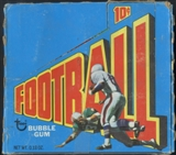 1972 Topps Football 1st Series Wax Box