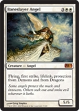 Magic the Gathering 2011 Single Baneslayer Angel FOIL
