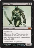 Magic the Gathering 2011 Single Grave Titan UNPLAYED (NM/MT)