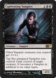 Magic the Gathering 2011 Single Captivating Vampire - SLIGHT PLAY (SP)