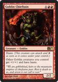 Magic the Gathering 2011 Single Goblin Chieftain Foil