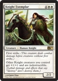 Magic the Gathering 2011 Single Knight Exemplar - NEAR MINT (NM)