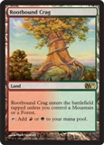 Magic the Gathering 2011 Single Rootbound Crag UNPLAYED (NM/MT)